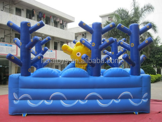 Colorful bounce house/baby bouncer/inflatable bouncy castle for sale