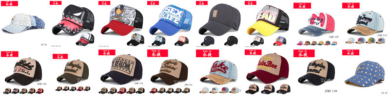 100% Cotton New Design Fashionable Led Light Baseball Cap Wholesale