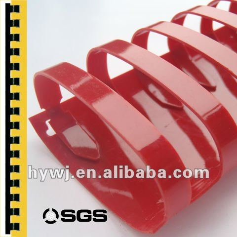 Office Binding Supplies 21 Rings Plastic Binding Comb Binding Ring