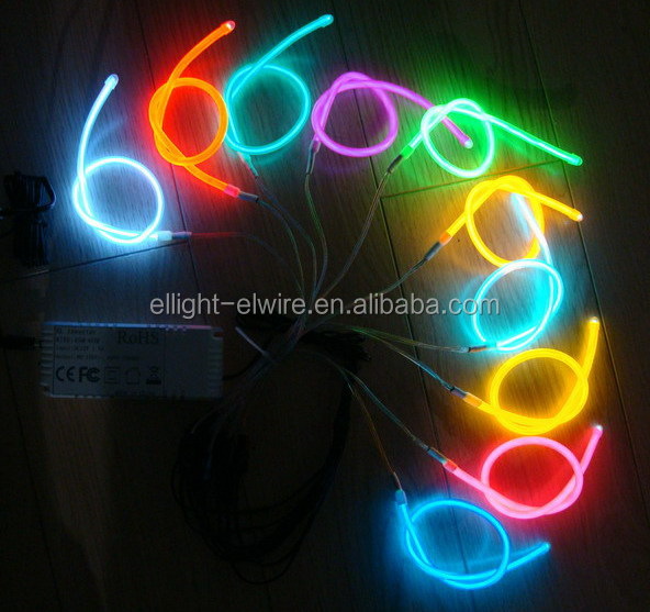 High luminance & Long life electroluminescent wire / High brightness EL Wire / el wire products