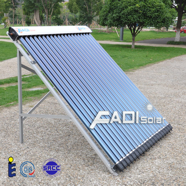 2016 China Famous Brand Fadi Solar Water Heater (Double Coiler 400Liter)