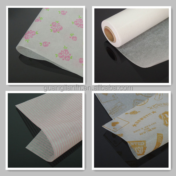 40gsm Two Sides Wax Paper Roll