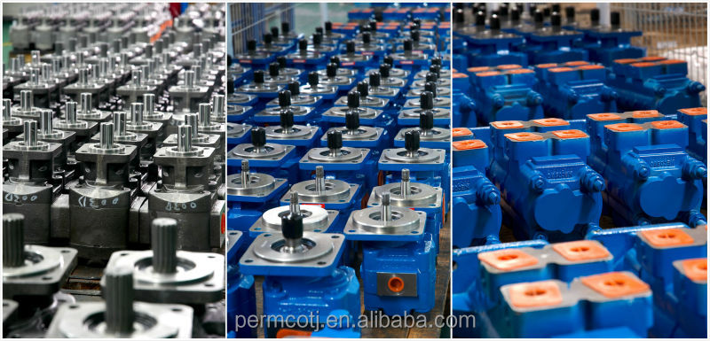 Aluminium high pressure gear oil pumps and motors P097 series