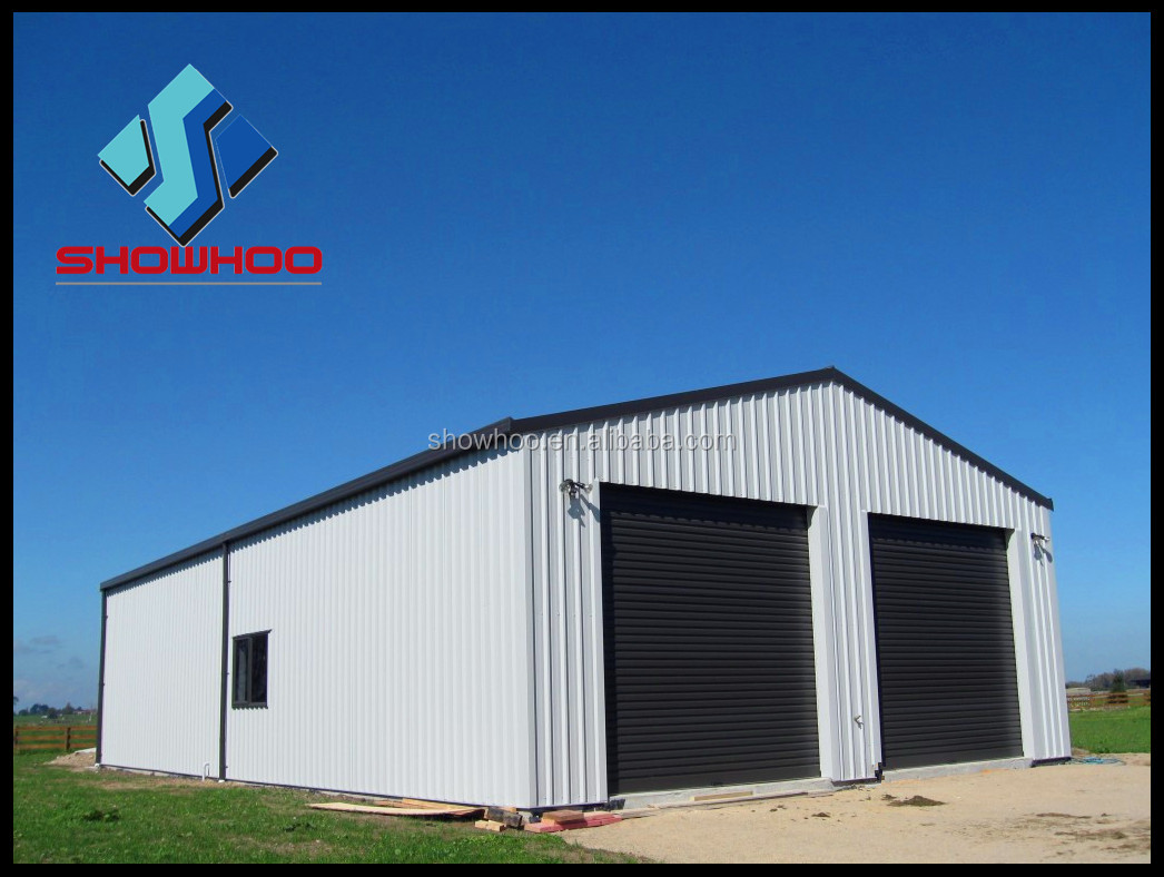 Cost effective steel structure metal building for Building a prefab shed
