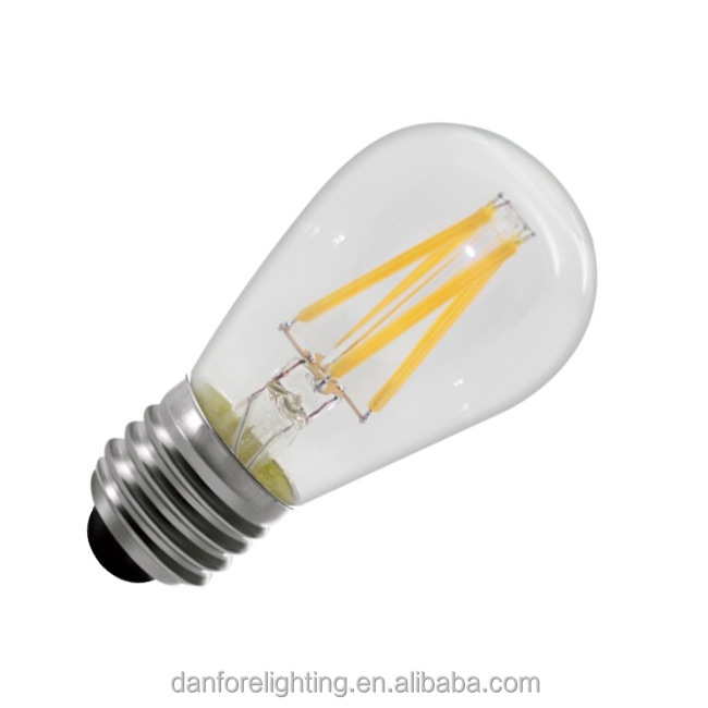 1w 2w 3.5W 5w ST45 E27 e26 base led filament light bulb