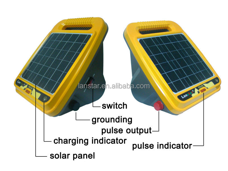 2014 hot selling product of solar electric fence energizer for farm