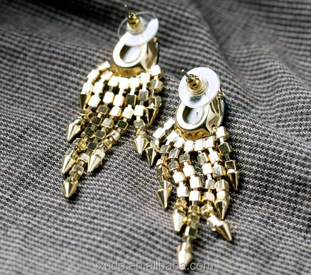 Free shipping latest fashion high end jewelry jhumka for High end fashion jewelry