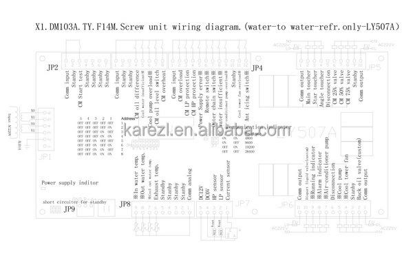 bitzer semi-hermetic compressor air conditioning chiller unit  single screw