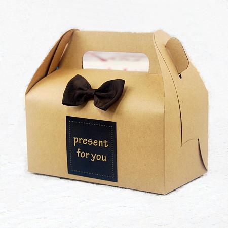 Graceful Kraft Dessert Box New Design Brown Paper Cake Buy BoxKraft