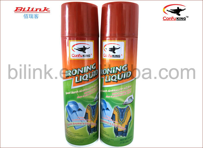 ironing easily fresh look for clothes starch aerosol spray