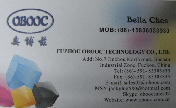 China Fuzhou OBOOC Supplier Indelible Ink For Voting Marking Monaco