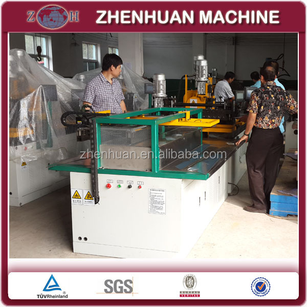 Cheap step lap CRGO silicon steel core cutting machine with auto stacker for transformer