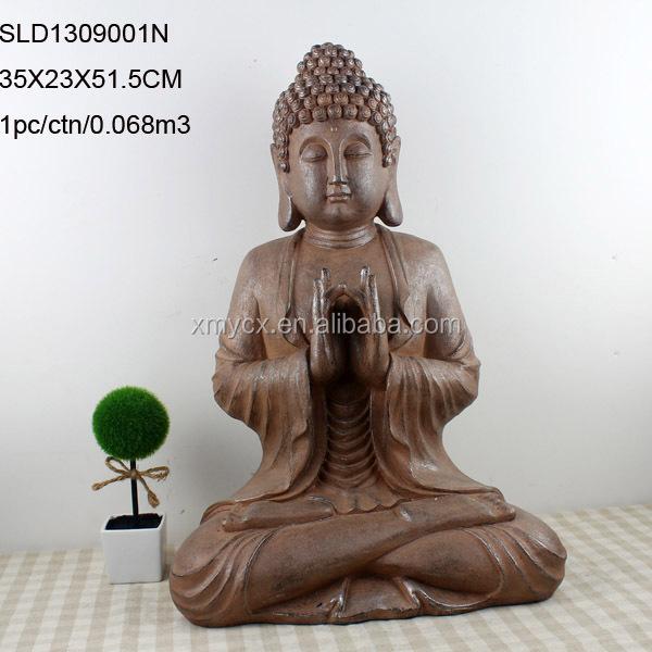 Signification Enraciné Résine Statue De Bouddha à Vendre