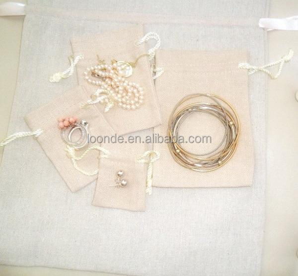 cotton jewelry bag