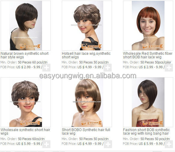 Afro curly wigs for black women, fashion short hair styles