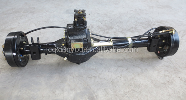 standard trailer parts american style trailer axle for single axle trailer