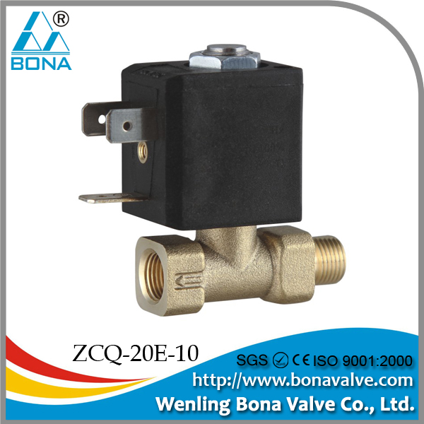 Brass Gas Safety solenoid valve for Gas Heater