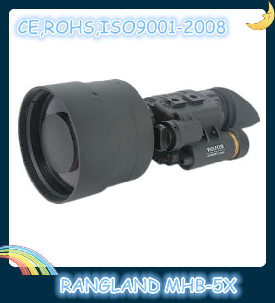Gen 2+ /Gen 3 Multi-purpose night vision monocular for security protection