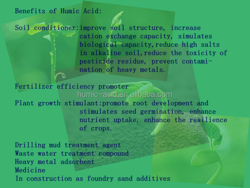 Hot sale water soluble agriculture organic Humic Acid trace elements