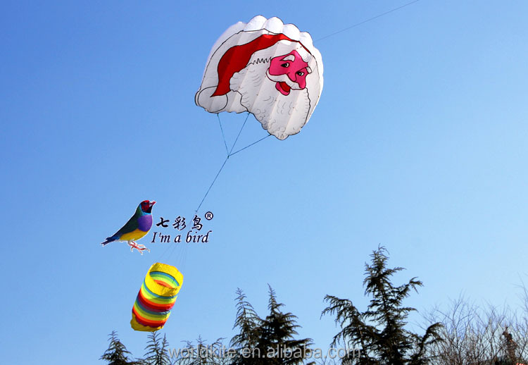 merry christmas gift/ father christmas soft kite