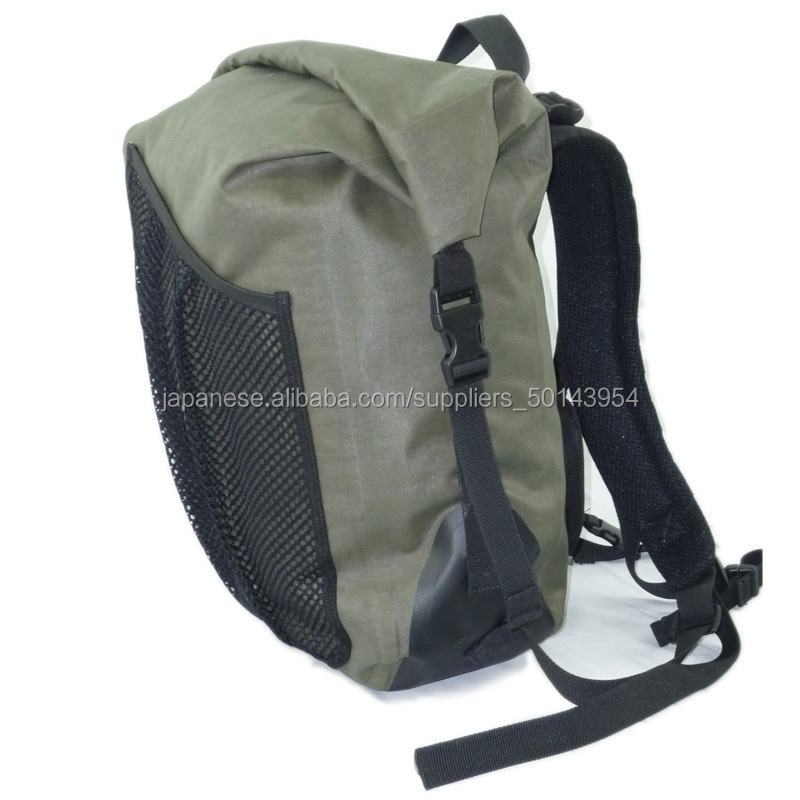 Waterproof Backpack | With Padded Laptop Sleeve | Dry Bag Backpack for Travel, Cycling, Camping, Hiking, Kayak, Rafting or Surf