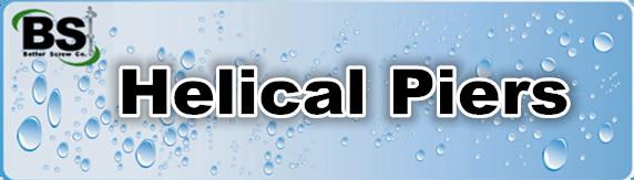 Helical piers (aka helical piles)