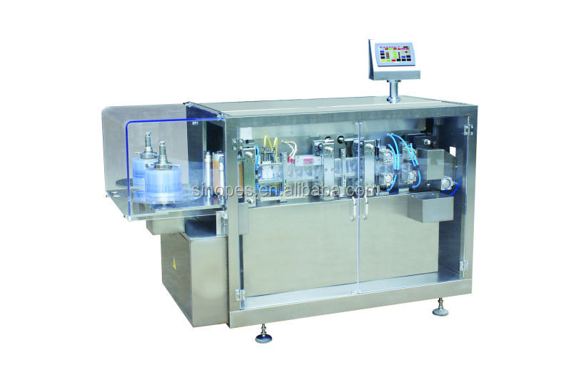 Mini Plastic Ampoule Forming, Filling, Sealing Machine, BFS Machine, Automatic Plastic Bottle Forming, Filling, Sealing Machine
