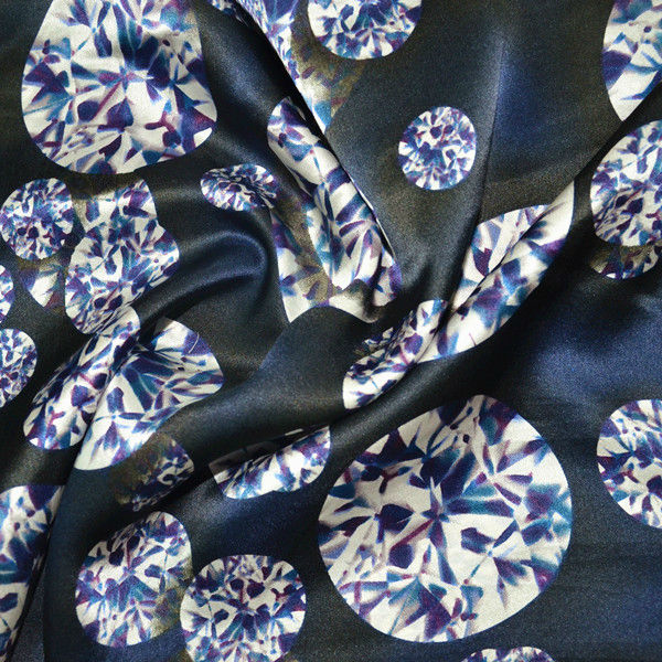100% silk fabric print silk satin print silk charmeuse satin