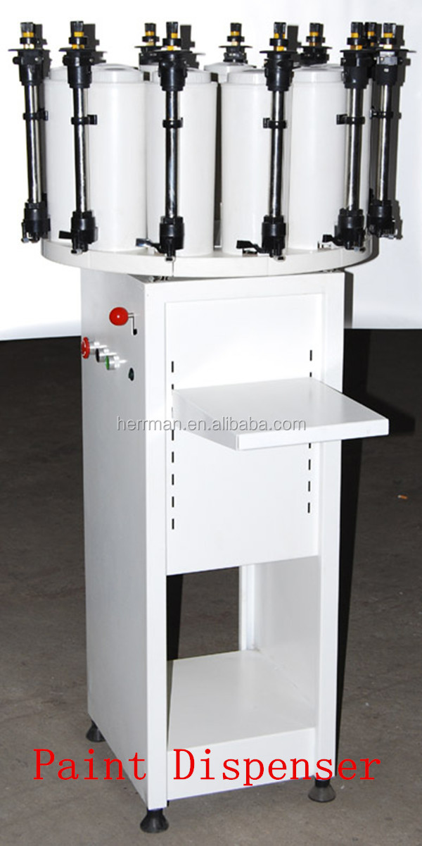 Accurate paint dispenser tinting machine buy manual for Paint tinting machine