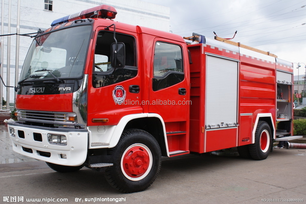 Dongfeng 4x2 LHD Foam and Water Fire Truck, Fire Fighting Truck RHD optional