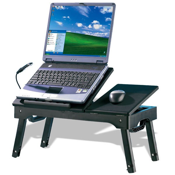Inclinable ordinateur portable table ordinateur portable - Petite table pour ordinateur portable ...