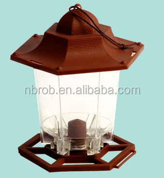 Lantern Seed Bird Feeder/Garden Plastic Bird Feeder RPC2002