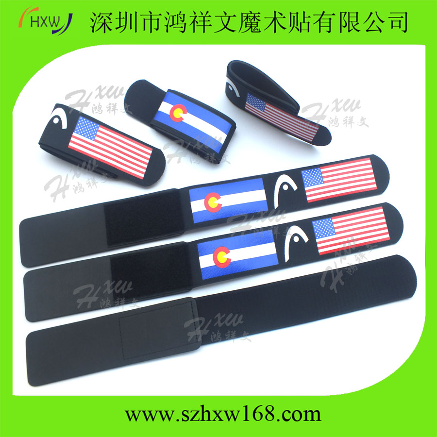 50X500mm Easy carrying Adjustable Custom Alpine ski straps