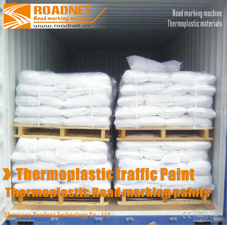 The Thermoplastic Vibration Reflective Road Marking paint