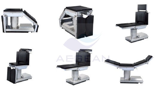 AG-OT007 Electric hydraulic luxurious x ray compatible lowest position operating theatre table