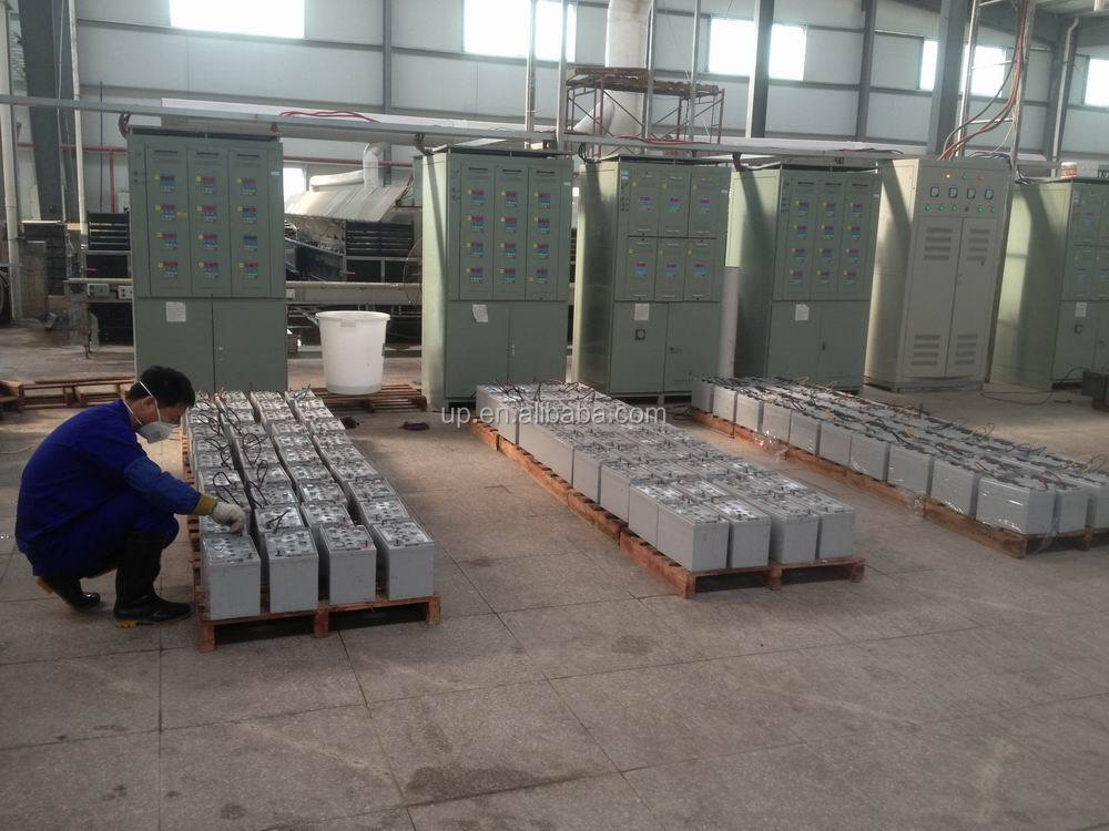 Rechargeable High Rate lead acid AGM Battery ISO 9001