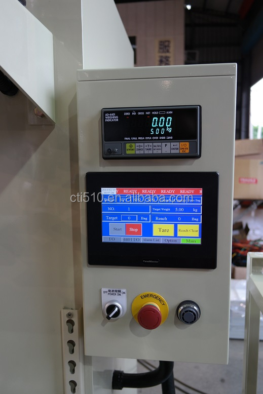 10kg-50kg Wheat Rice Feeds Pulse Automatic weighing Packing Machine