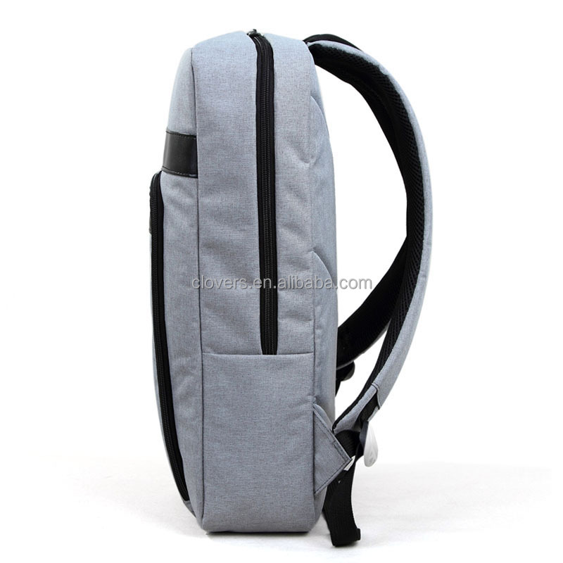 slim Laptop Backpack Vintage Canvas Travel Bag Daypacks for Men Outdoor Sports Recreation