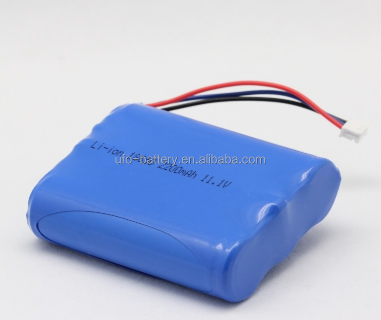 7.4V 11.1v 14.8V 29.6V 18650 Li-ion Battery Pack 2200mAh 2400mAh 2600mAh Li-ion Battery For Audio Amplifier