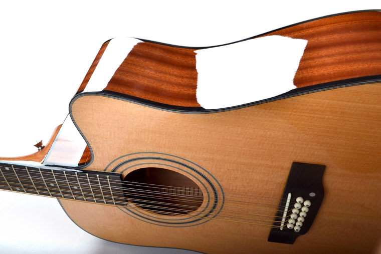 High quality hot sale 12 strings acoustic Guitar factory