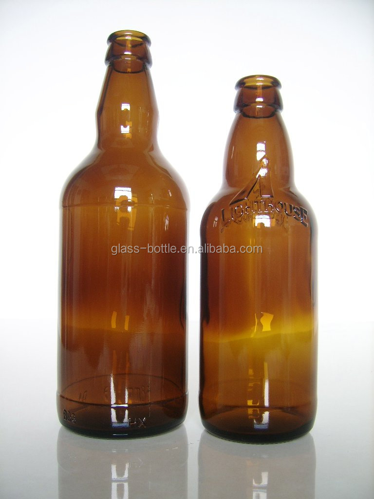 330ml brown glass beer bottles