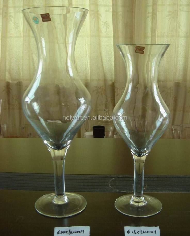 Hot Sale High Quality Custom Made Cheap Tall Glass Vases