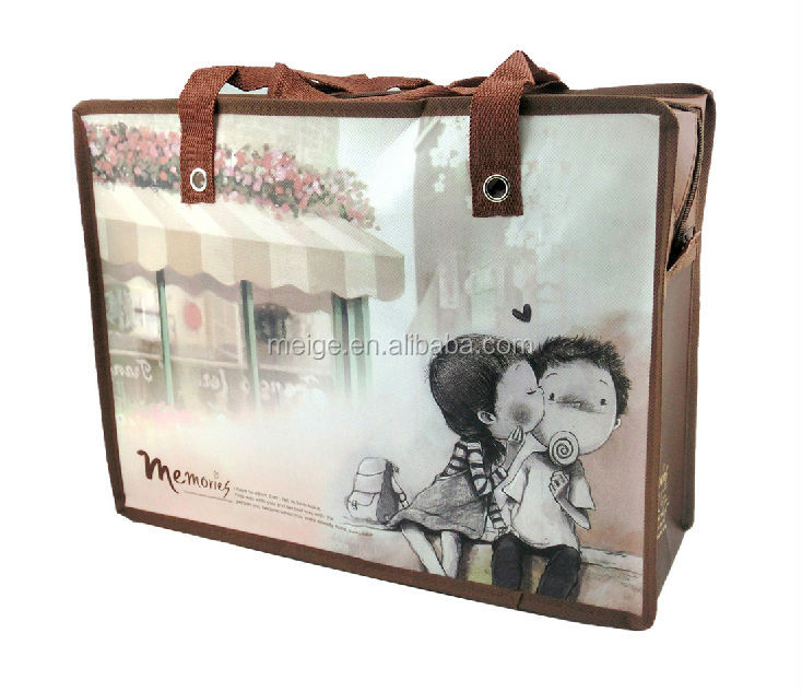 big non woven bag and shopping tote bag