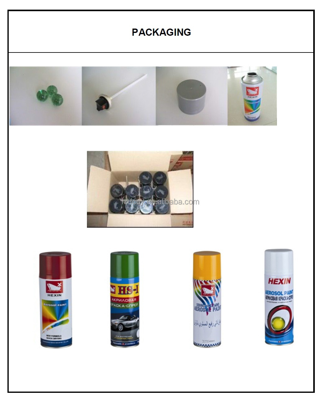 wholesale fast drying handy aerosol spray paint for car