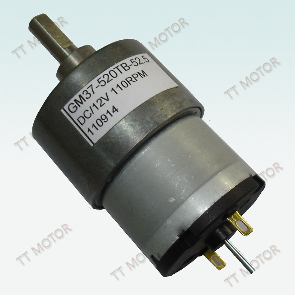 37mm 24v geared motor for rolling back plotter paper