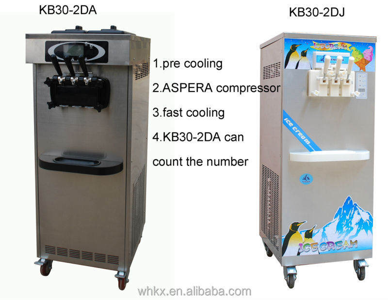 soft ice cream frozen yogurt machine