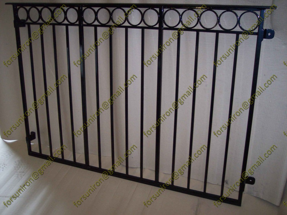 Modern simple iron grill design for balcony china factory for Modern house grill design