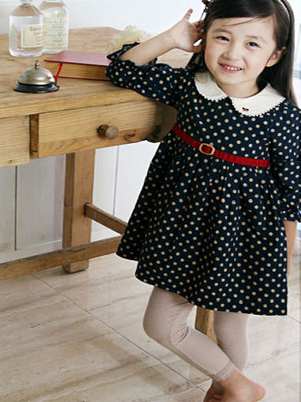 Latest Fall Collection Dress Points Designs Cheap Beautiful Casual Kids Girls Dresses