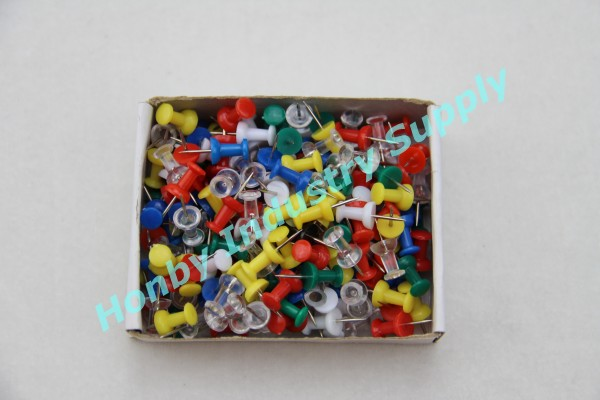 Factory For 23mm Long Solid Colors Handle Push Pins