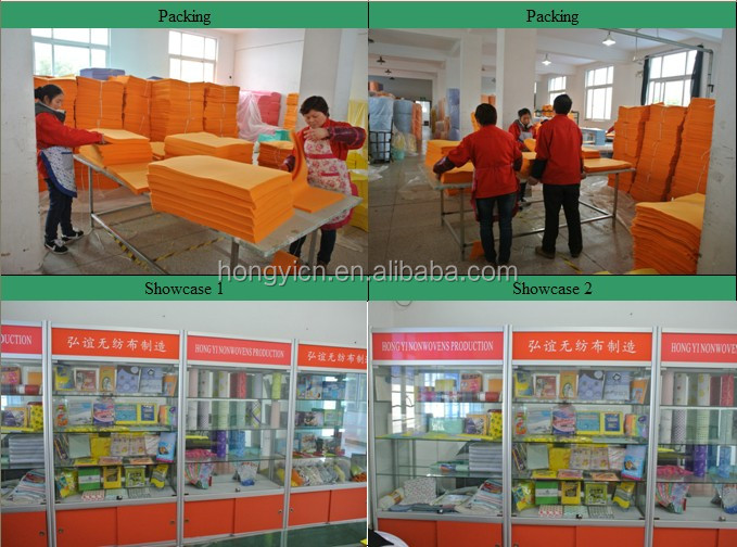 All purpose nonwoven household cloth, household cleaning cloth